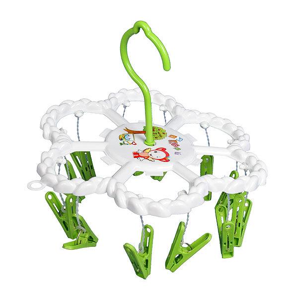 Сушилка для белья подвесная с прищепками RA620A D23 cm (12 прищепок) купить оптом и в розницу