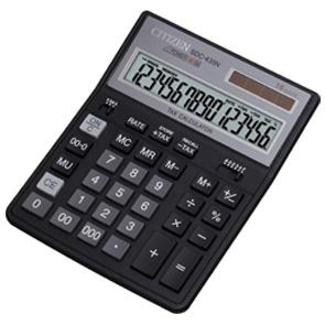 Калькулятор CITIZEN настольный 16раз 203,5*158*31,5мм купить оптом и в розницу