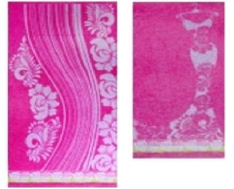 ПЦ-2602-1111 полотенце 50x90 махр п/т LA MODA цв.10000 купить оптом и в розницу