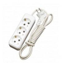 Удлинитель электрический 7 м/3 роз. с/з (ПВС 3*0,75) (1/30) купить оптом и в розницу