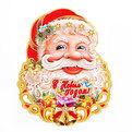 Плакат новогодний 54 см Дед Мороз купить оптом и в розницу