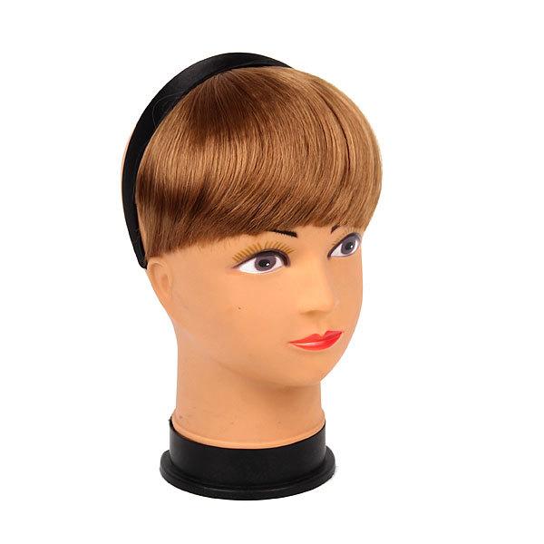 Волосы накладные ″Челка на ободке″ русый цв 131-2 купить оптом и в розницу