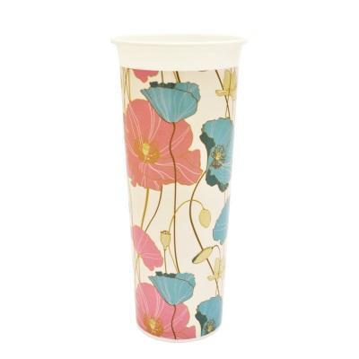 Ваза для цветов Маки D 112 mm*18 купить оптом и в розницу