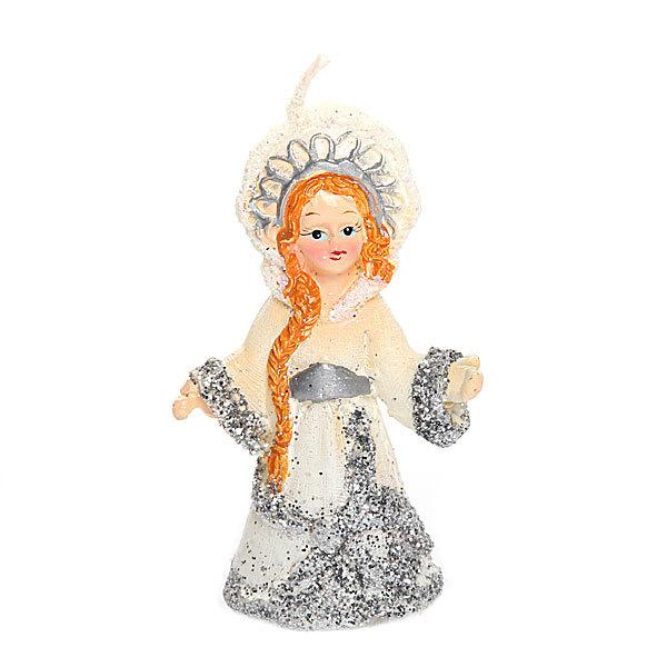 Свеча Новогодняя ″Снегурочка″ 7 см купить оптом и в розницу
