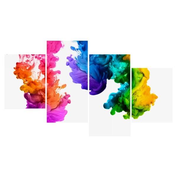 Картина модульная полиптих 60*129 Абстракция диз.2 61-03 купить оптом и в розницу