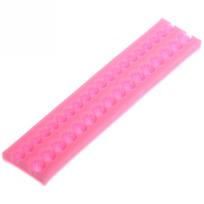 Форма силиконовая для мастики и марципана ″Жемчужины″ 19,8*4*1 см купить оптом и в розницу