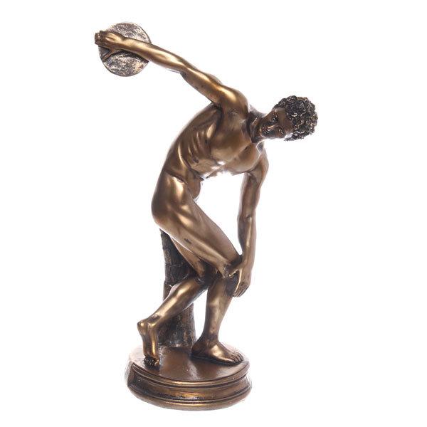 Статуэтка из полистоуна античная Дискобол (бронза) купить оптом и в розницу
