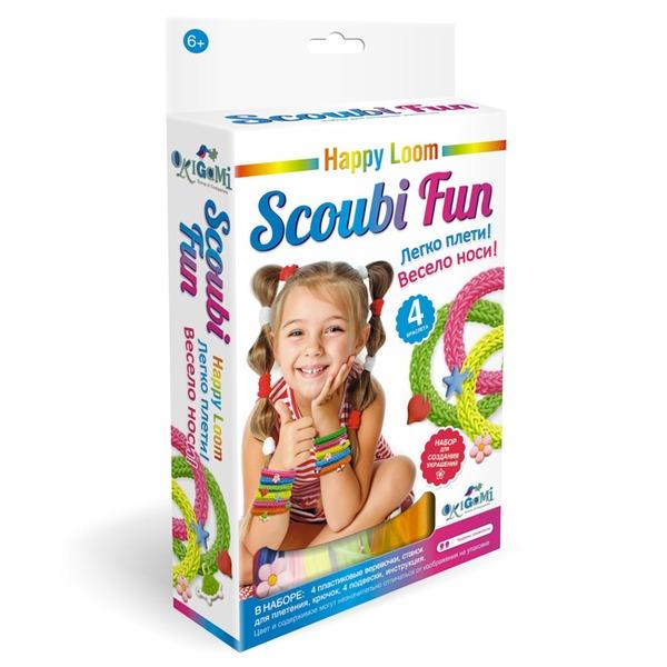 Набор ДТ Изготовление браслетиков.Scoubi Fun Happy Loom 02208 купить оптом и в розницу
