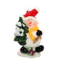 Свеча Новогодняя ″Снеговичок″ 9 см купить оптом и в розницу