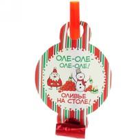 Язычок карнавальный ″Оле! Оливье на столе!″, Снежон и Борода купить оптом и в розницу