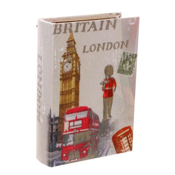 Ключница ″Книга″ 15*21*5см 2крючка Лондон JY033-3 купить оптом и в розницу