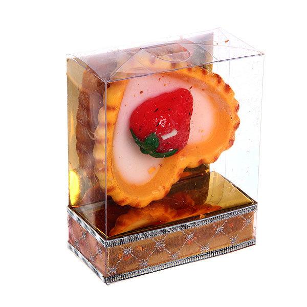 Свеча ″ Пироженка с клубничкой ″ купить оптом и в розницу