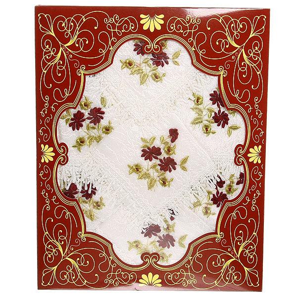 Набор скатерть 150*220см+12салфеток Романтика в подарочной упаковке 1 купить оптом и в розницу