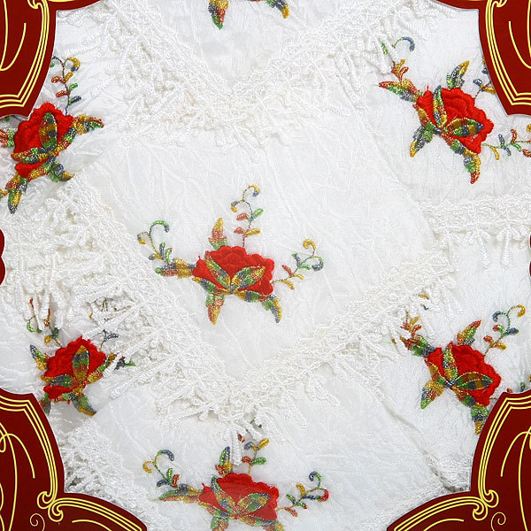 Набор скатерть 150*220см+12салфеток Романтика в подарочной упаковке 7 купить оптом и в розницу