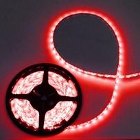 Лента светодиодная 5м*10мм, 60 ламп LED на 1м, красный,самоклейка, степень защиты IP65 купить оптом и в розницу
