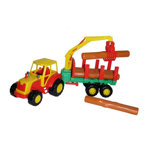 Трактор Мастер с полуприцепом лесовозом 35295 П-Е /6/ купить оптом и в розницу