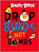 """Блокнот А6 80л.кл.сшивка,тв.обл.HATBER, """"Angry Birds"""" купить оптом и в розницу"""