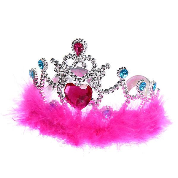 Корона пластиковая карнавальная ″Принцесса Блеск″ 1656-018 купить оптом и в розницу