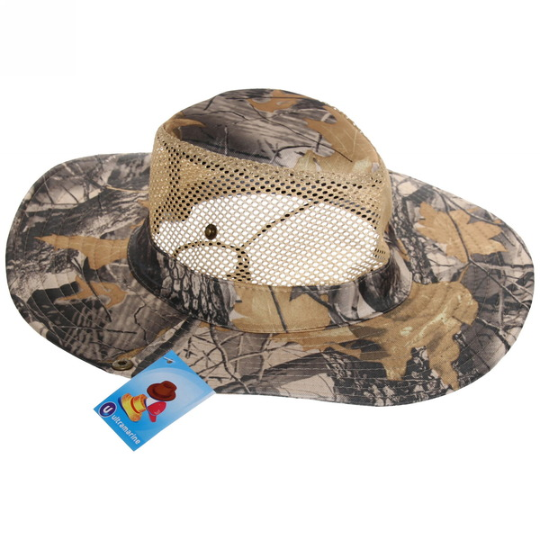 Шляпа мужская с клепками и сеткой зелено-желтый цвет 58см купить оптом и в розницу