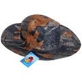 Шляпа мужская с клепками серый цвет 58см 056-11 купить оптом и в розницу