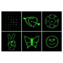 Световой прибор Лазер М-015D, RG, mic+авто, 3 режима, 4 рисунка купить оптом и в розницу