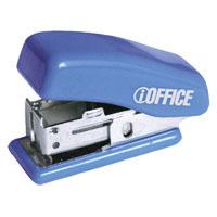 Степлер  № 24/6(26/6) iOffice синий к/у 12л купить оптом и в розницу
