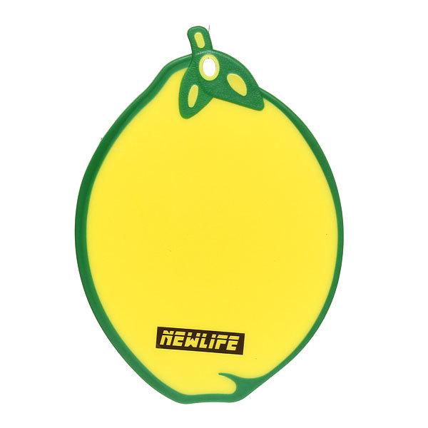 Доска разделочная пластиковая ″Лимон″ 33,5*23,5см В9131 купить оптом и в розницу