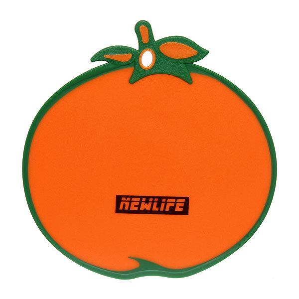 Доска разделочная пластиковая ″Апельсин″ 28*27,5см купить оптом и в розницу