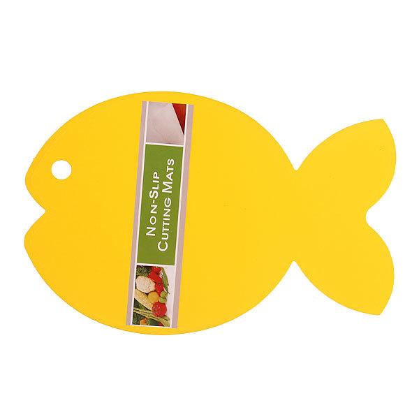 Доска разделочная пластиковая ″Рыбка″ 29,5*19,5см купить оптом и в розницу