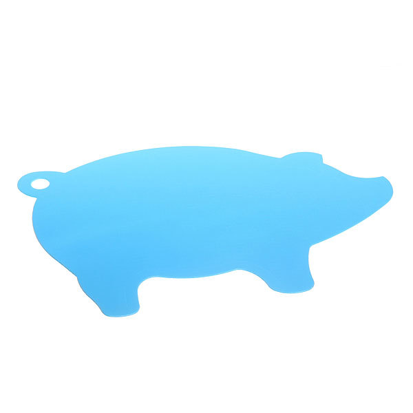 Доска разделочная пластиковая ″Поросенок″ 30*17см купить оптом и в розницу