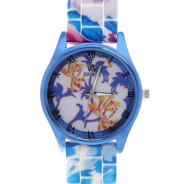 Часы наручные на силиконовом ремешке ″Резной орнамент″ купить оптом и в розницу
