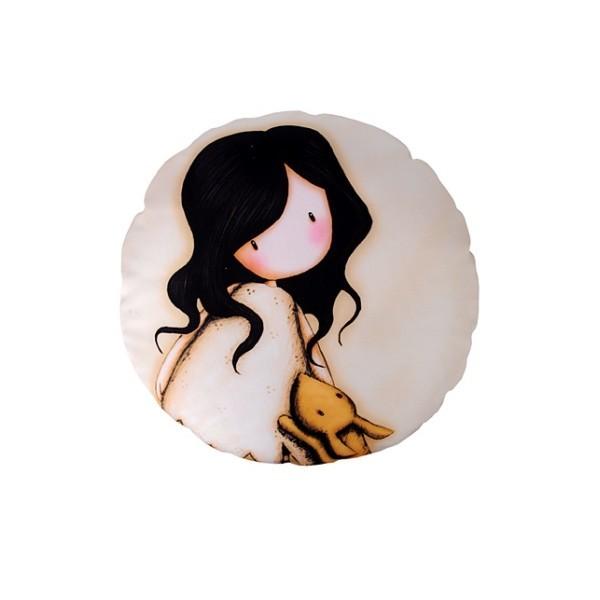 Подушка декоративная 30см ″Девочка с фотопечатью″ купить оптом и в розницу