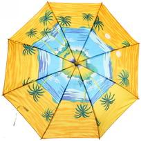 Зонт детский полуавтомат со свистком ″Веселое ассорти″, 8 спиц, d-80см купить оптом и в розницу