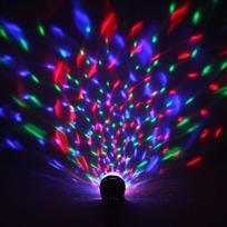 Светодиодная лампа диско ″Калейдоскоп″, RGB(красный, зеленый, синий)с удлинителем, 220 В, подвесная купить оптом и в розницу