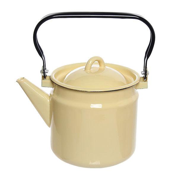 Чайник эмалированный 2л без рисунка купить оптом и в розницу