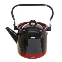Чайник эмалированный 2л черный купить оптом и в розницу