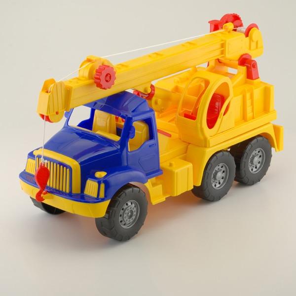 Автомобиль Магирус кран 0503/Colorplast/ купить оптом и в розницу