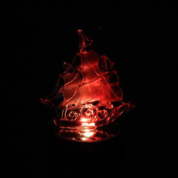 Фигурка из акрила ″Корабль на сердце″ 14 см МН085-FC купить оптом и в розницу