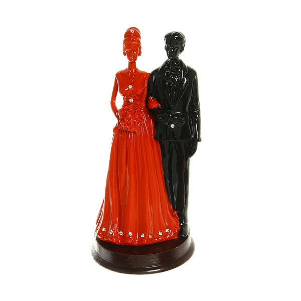 Статуэтка из полистоуна ″Алая коллекция″ Венчание 21*10 см купить оптом и в розницу