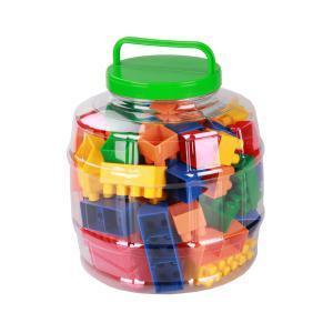 Конструктор детский (стандарт) 65шт. (уп.8) (Октябрьский) купить оптом и в розницу