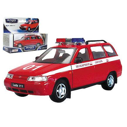 Модель ЛАДА 111 Пожарная 2664 1:43 купить оптом и в розницу
