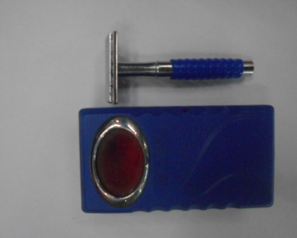 Станок для бритья ″Классика″, цвет ручки микс 9,5см купить оптом и в розницу