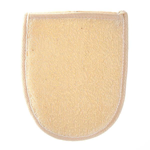 Мочалка-варежка для тела комбинированная 018 - 075791 купить оптом и в розницу