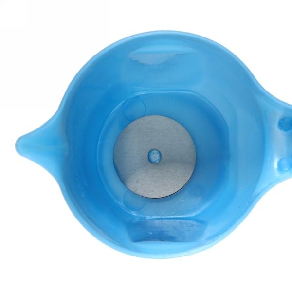 Чайник электрический Минутка 0,6 л бело/голубой купить оптом и в розницу