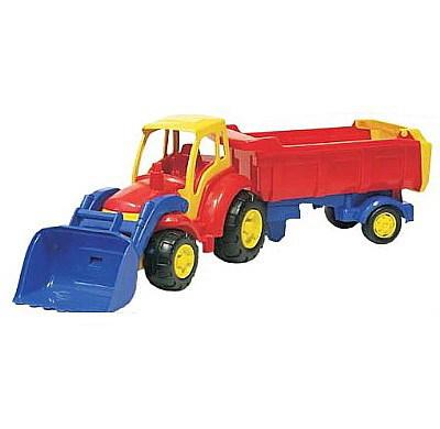 Трактор Чемпион с ковшом и полуприцепом 0438 П-Е /4/ купить оптом и в розницу