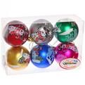 Новогодние шары ″Снеговичок″ 7см (набор 6шт.) купить оптом и в розницу