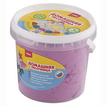 Набор ДТ Домашняя песочница Розовый песок 1 кг Дп-014 Lori купить оптом и в розницу