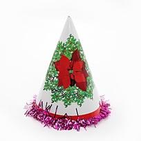 Колпак новогодний ″Новый Год″ с мишурой 20см купить оптом и в розницу