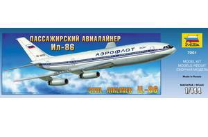 Сб.модель П7001 ПН Авиалайнер Ил-86 купить оптом и в розницу