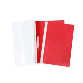 Папка скоросшиватель А4 красная 04603 Hatber купить оптом и в розницу